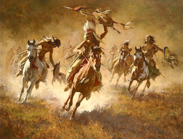 Mystic Power Of The War Shield Howard Terpning