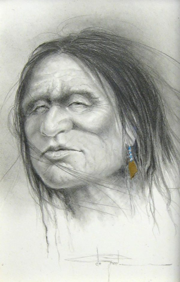 Native Study V - Henri de Groot