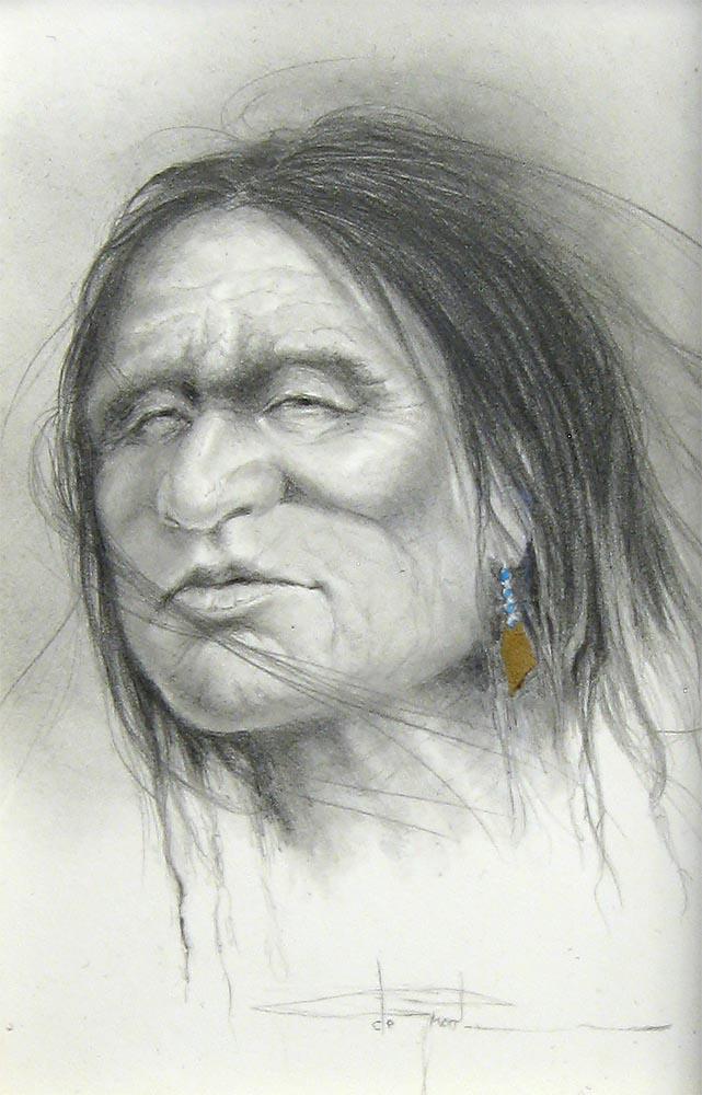 Native Study V - Henri de Groot