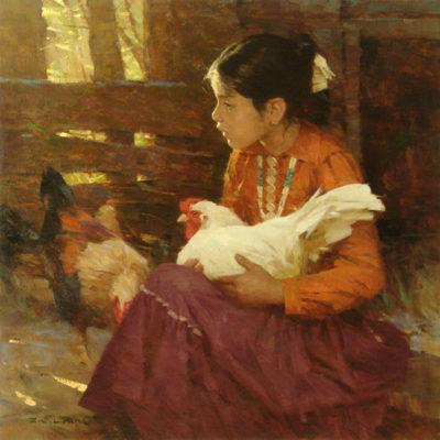 Navajo Girl - Z. S. Liang