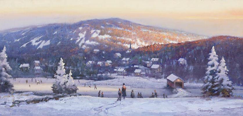 New England Winter Paul Landry
