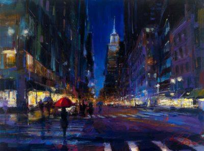New York City Rain - Michael Flohr