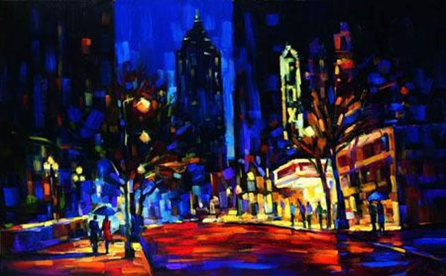 Night At The Fox Michael Flohr