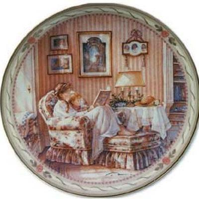 Nursery Rhymes Collector Plate Trisha Romance