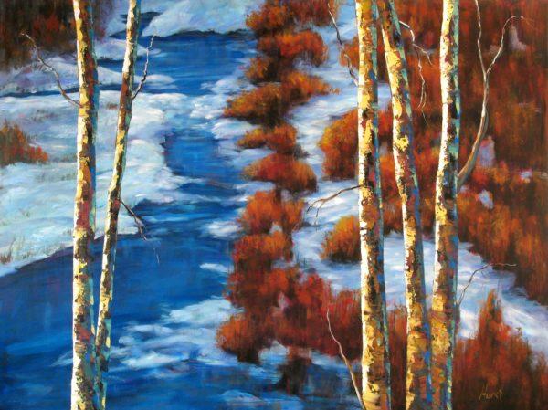 October Blues II - Marilyn Hurst