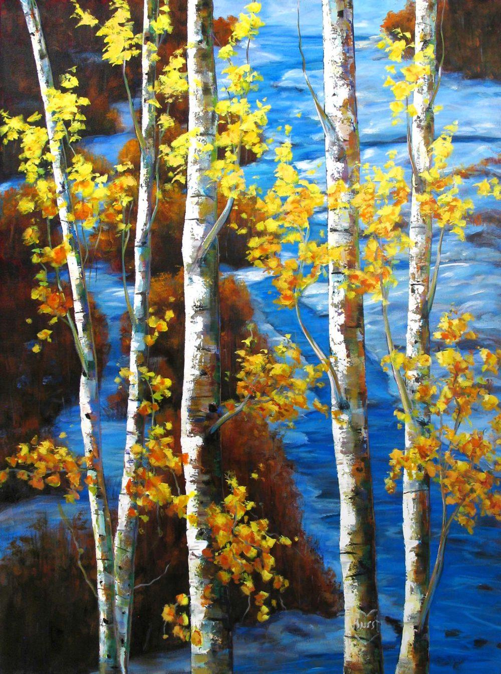 October Blues - Marilyn Hurst