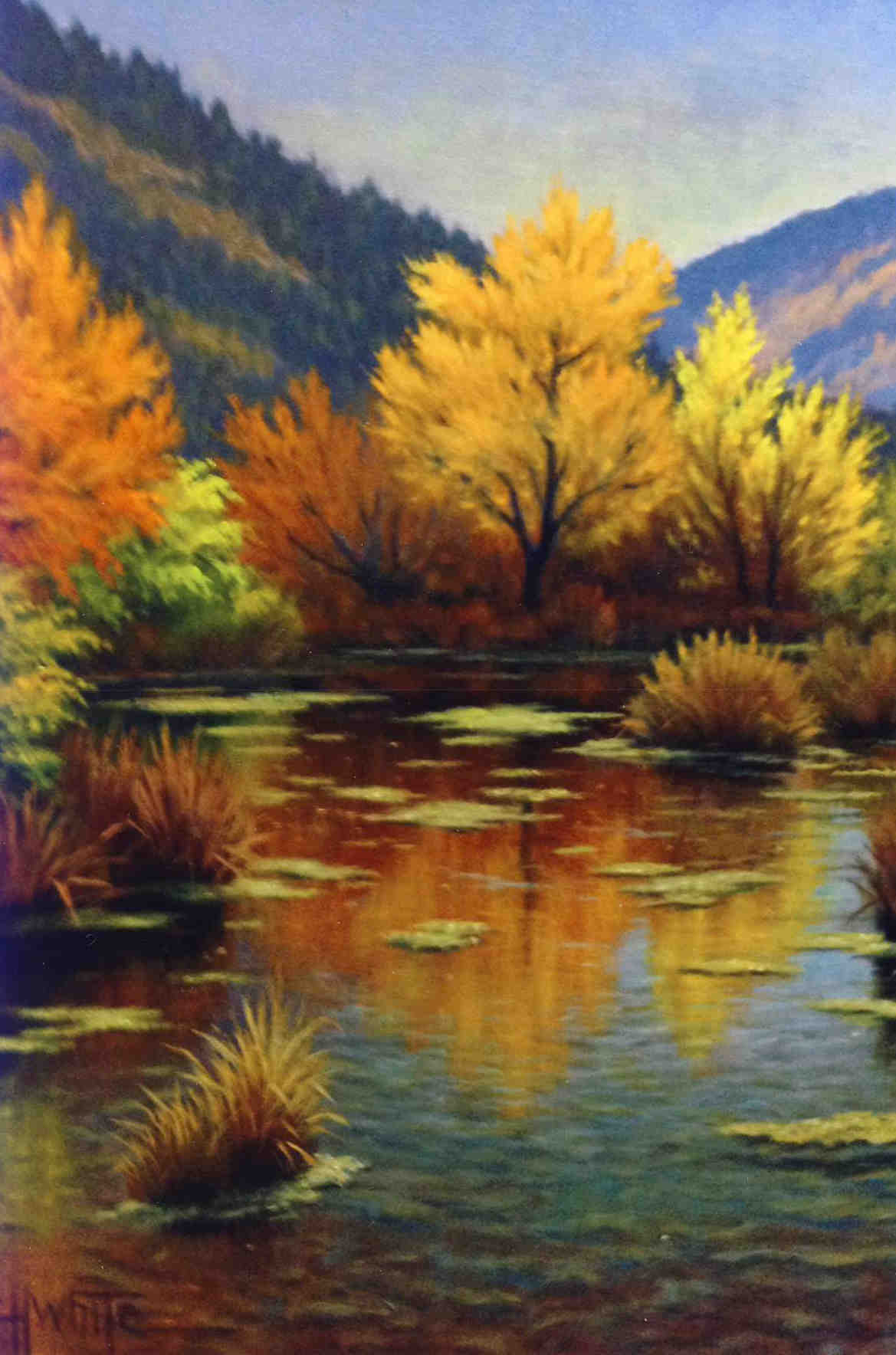 October Reflections Charles White