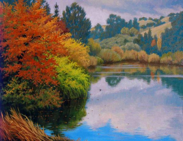 October At Cull Canyon Charles White