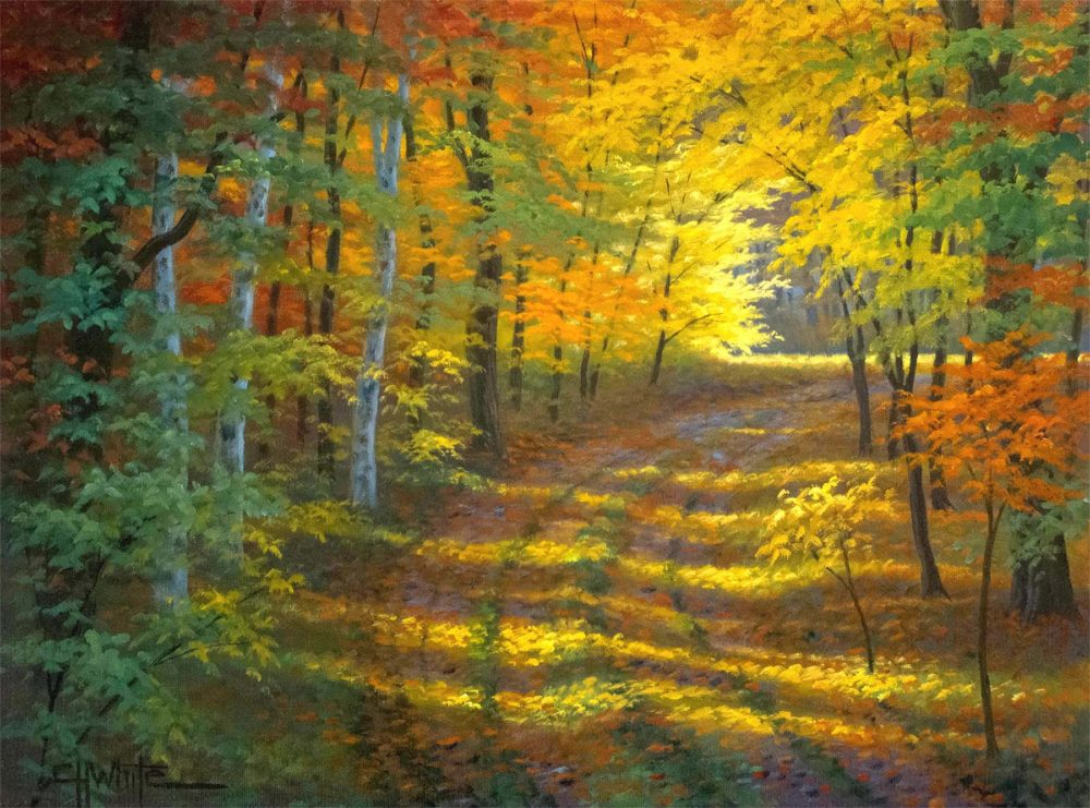 October in Ontario - Charles White