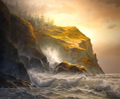 Of Cliffs And Surf Jonn Einerssen