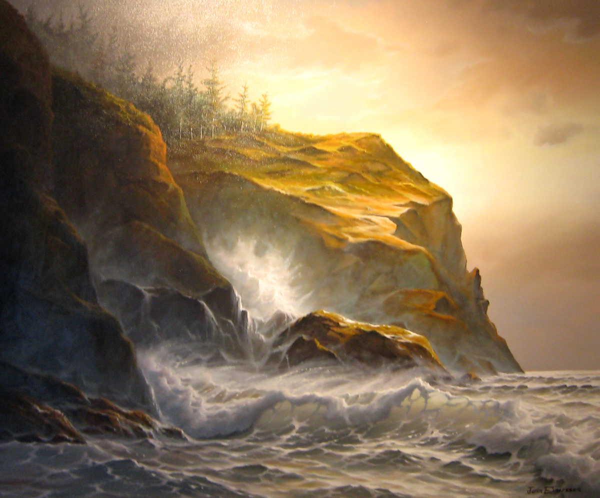 Of Cliffs And Surf Jonn Einerssen
