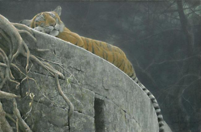 Old Fort Tiger Robert Bateman 1