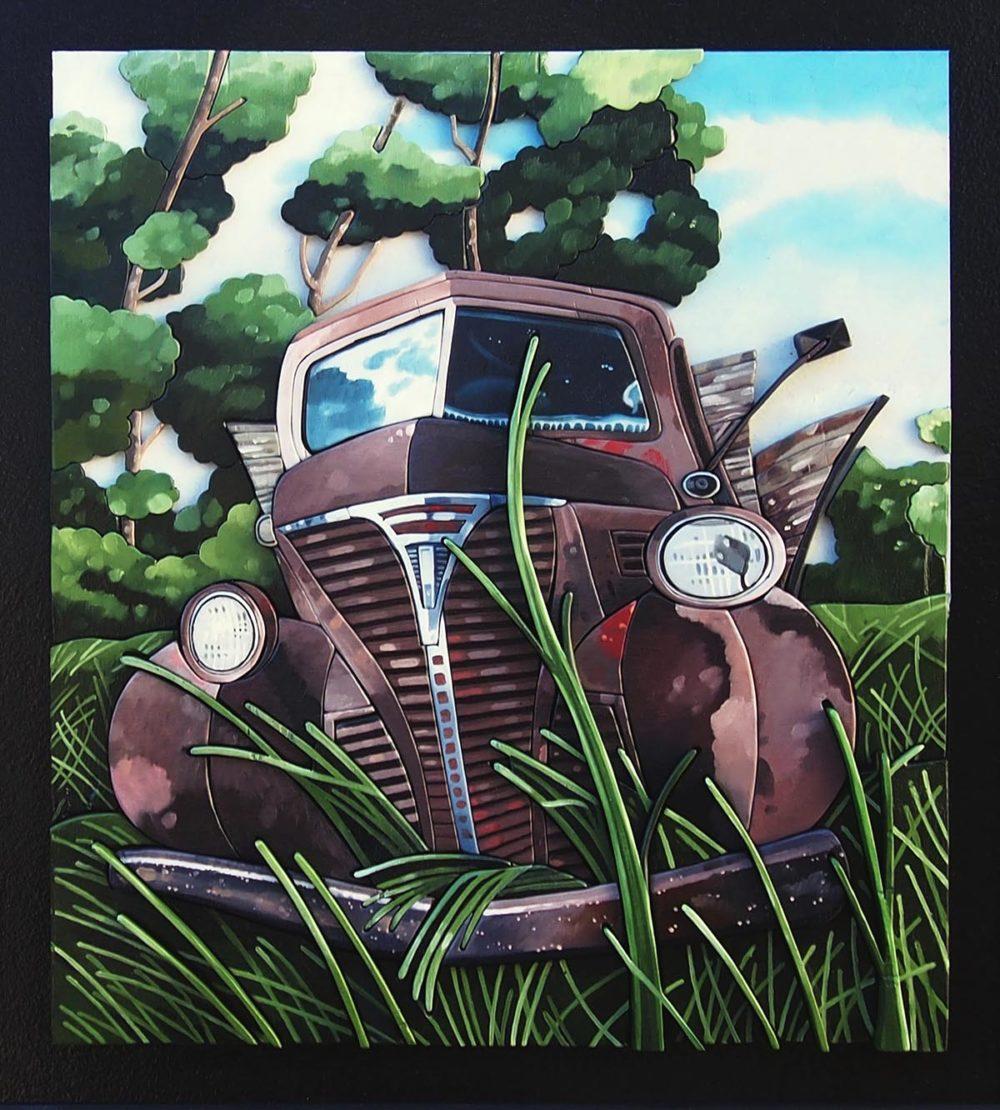 Old Truck - Mark Farand