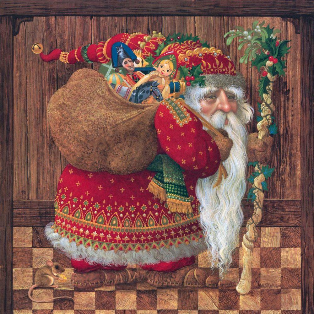 Olde World Santa - James Christensen