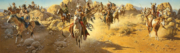 On the Old North Trail - Frank McCarthy