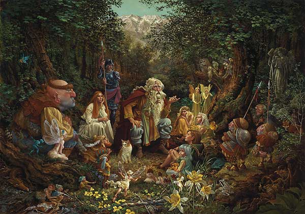 Once Upon A Time James Christensen