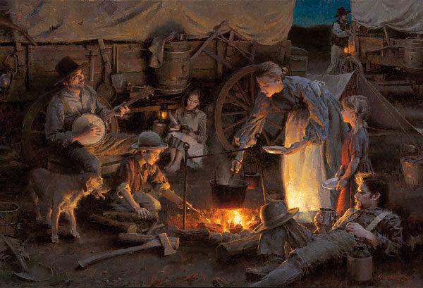 Oregon Trail Family, 1848 Morgan Weistling
