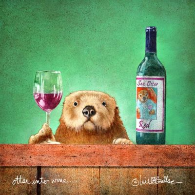 Otter into Wine - Will Bullas