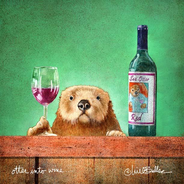 Otter into Wine - Will Bullas