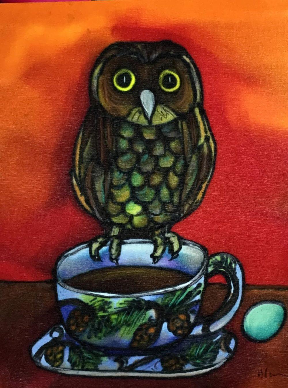 Owl Tea - Holly Carr