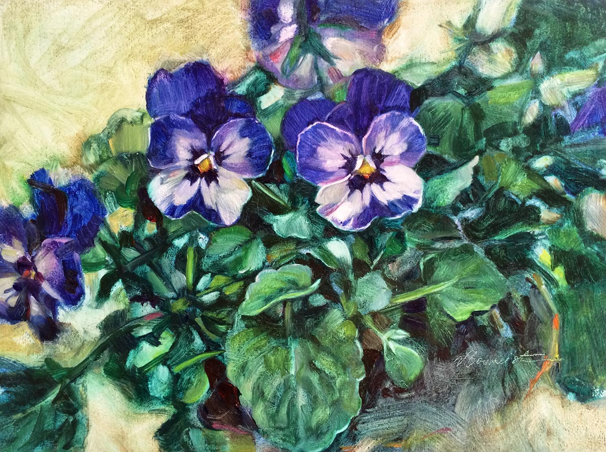 Pansy Blues - Nicoletta Baumeister