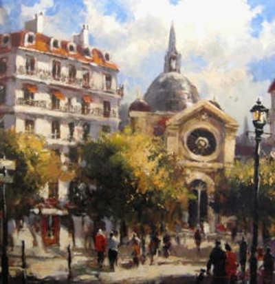 Parisienne Boulevard Brent Heighton