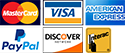 Payment options accepted: Visa, MasterCard, American Express, Interac, Discover