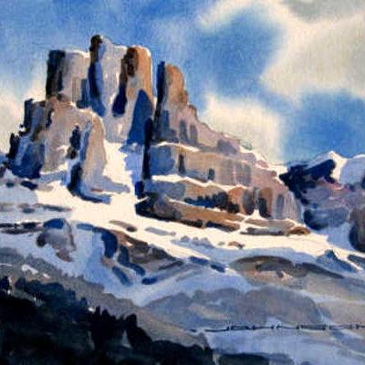 Peak Of Mount Marchison Gregg Johnson