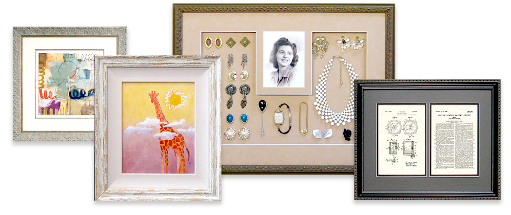 Picture Framing - Four Frames Example