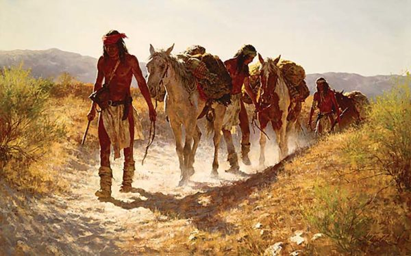 Plunder from Sonora - Howard Terpning