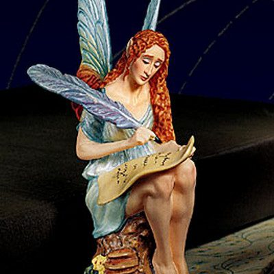 Poesy The Faerie Muse Of Poetry Porcelain James Christensen