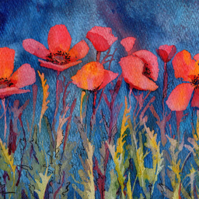 Poppy Blues Larisa Cheladyn