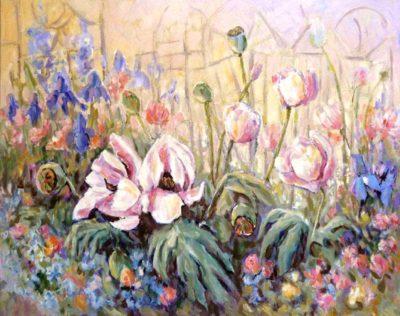 Poppy Garden - Audrey Pfannmuller