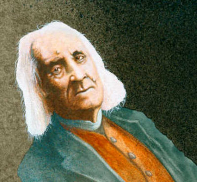 Portrait Of Franz Liszt With A Severe List Will Bullas