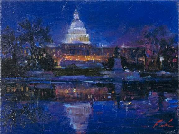 Postcards from Around the World - Capital Building, Washington - Michael Flohr