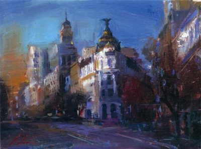 Postcards from Around the World - Dream of Madrid - Michael Flohr