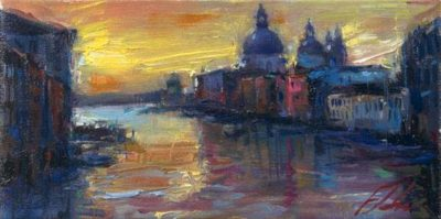 Postcards from Around the World - Grand Canal, Venice - Michael Flohr