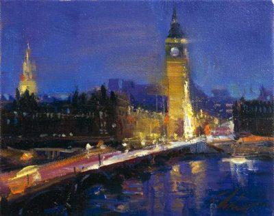 Postcards from Around the World - London Bridge, London Tower - Michael Flohr
