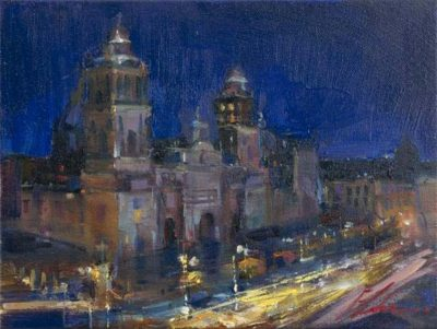 Postcards from Around the World - Metropolitan Cathedral, Mexico City - Michael Flohr