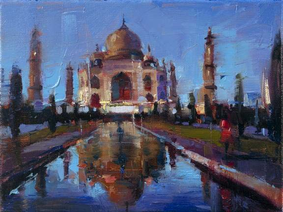 Postcards from Around the World - Taj Mahal - Michael Flohr