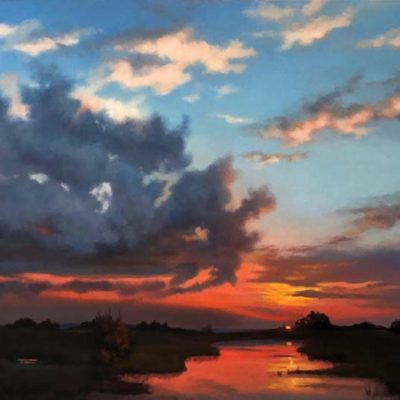 Prairie Sunset - Maurade Baynton