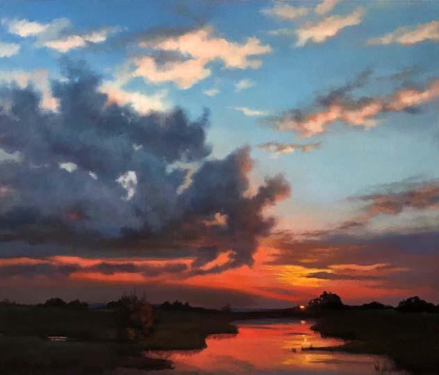 Prairie Sunset - Maurade Baynton