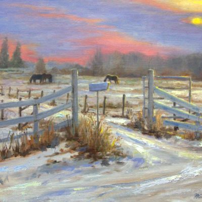 Prairie Winter - Michelle Murray