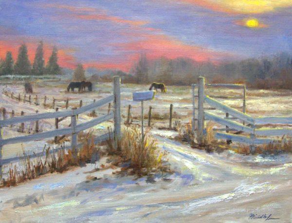 Prairie Winter - Michelle Murray