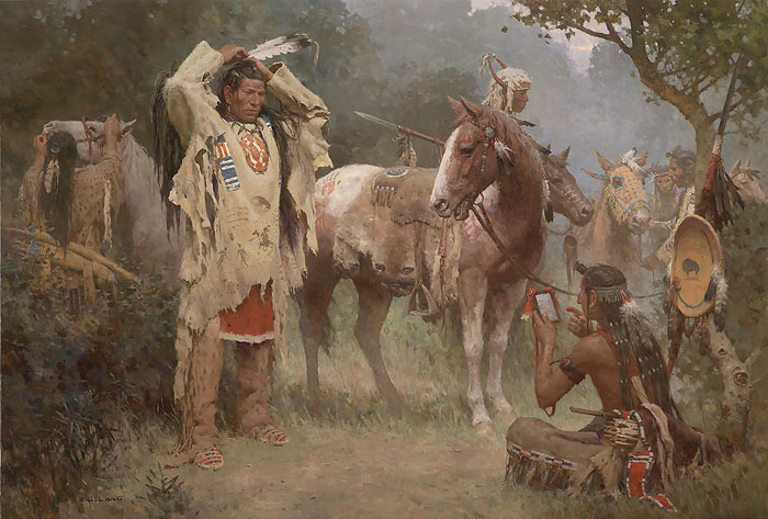 Preparing for the Confrontation - Z. S. Liang