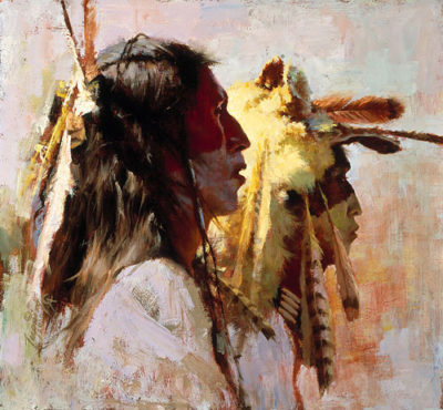 Proud Men Howard Terpning.