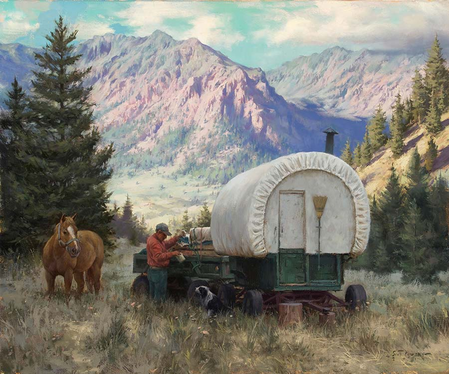 Provisions for His Partners - Scott Tallman Powers