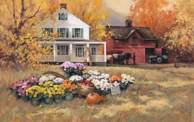Pumpkin Hayride Paul Landry