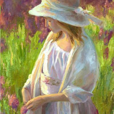 Purple Wildflowers Michelle Murray