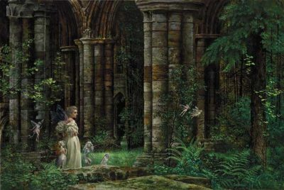 Queen Mab In The Ruins James Christensen
